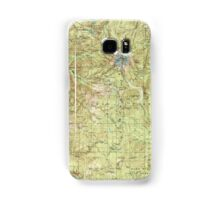 USGS Topo Map Oregon Mount Hood 283227 1927 125000 Samsung Galaxy Case/Skin