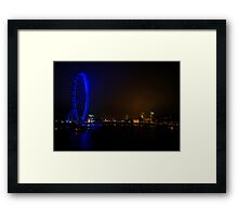 London Eye and The Houses of Parliament Framed Print