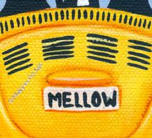 Yellow Road Trip Cats Sticker
