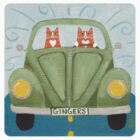 Ginger Cat Road Trip by Ryan Conners
