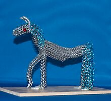Chainmaille Horse by elainejhillson