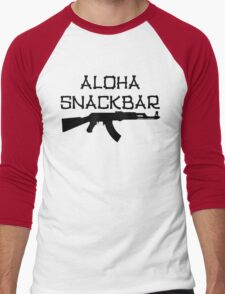 Aloha Snack Bar Men's Baseball ¾ T-Shirt