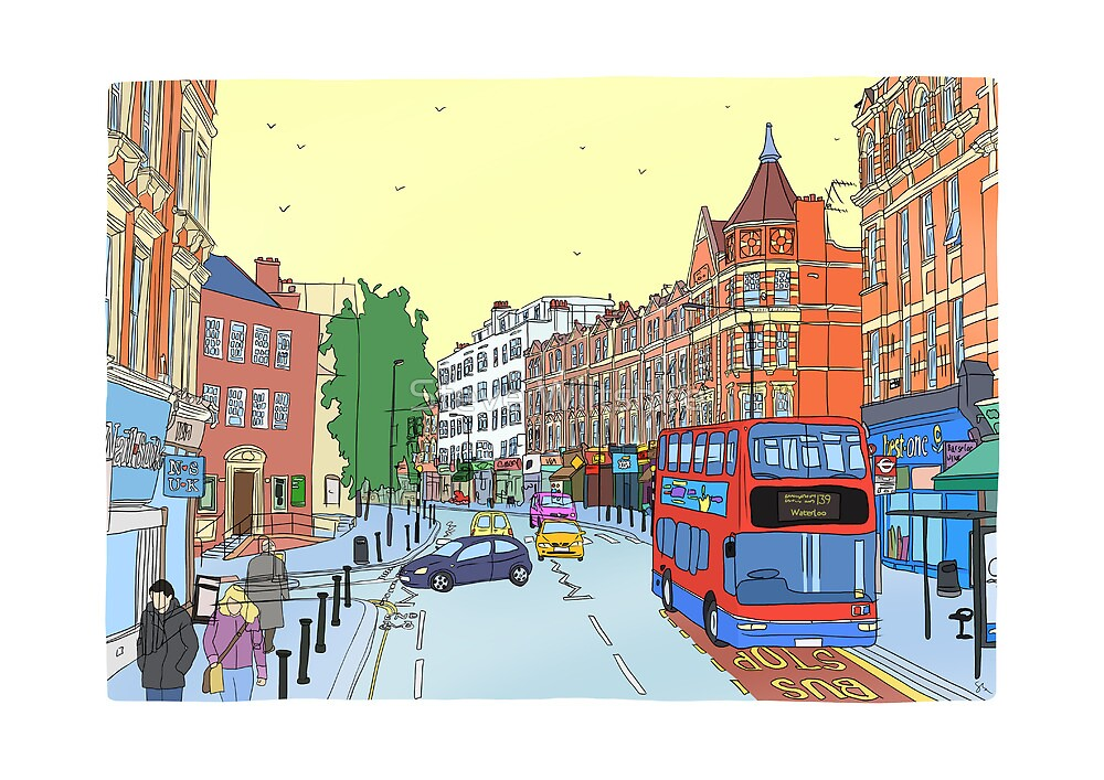 West Hampstead, London, UK by Steve Wiltshire
