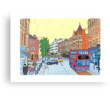 West Hampstead, London, UK Canvas Print