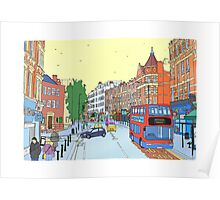West Hampstead, London, UK Poster