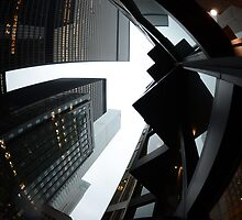 Toronto Financial District by Wayne  Cook Photography