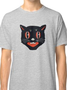 Vintage Black Cat Classic T-Shirt