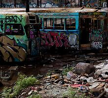 Rozelle Tram Depot - Trams and Bus by LiamCameron