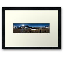 Eiger North face #2 Framed Print