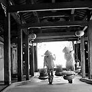 Japanese covered  bridge, Hoi An, Vietnam. by John Mitchell