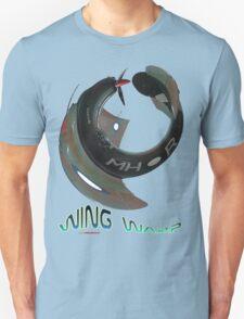 Boomerang Fighter Wing Warp T-shirt Design Unisex T-Shirt