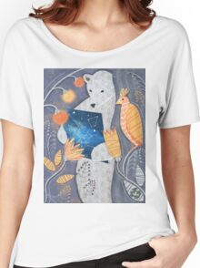 Bear searching exit Women's Relaxed Fit T-Shirt