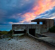 Ruins at Days end - Pt Lonsdale Victoria by Graeme Buckland