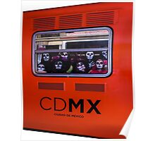 La Catrina Viaja en Metro CDMX 2151 Poster