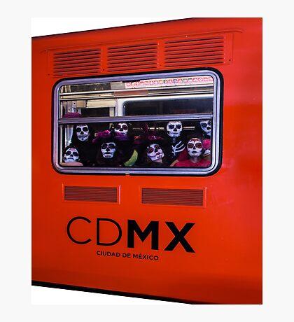 La Catrina Viaja en Metro CDMX 2151 Photographic Print