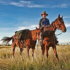 Pic Willetts - Camooweal Drover by Carmel Williams
