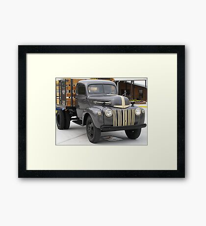 Ford Delivery Truck - Tennessee Framed Print