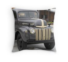 Close Up Ford Truck - Tennessee Throw Pillow