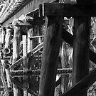 Railway Bridge - Denmark by pennyswork