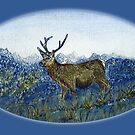 Red Deer on the Cabrach by sharpie