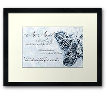 Too Precious For Earth (boy) Framed Print