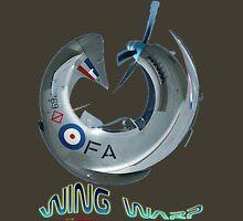 Mustang Fighter Wing Warp T-shirt Design Unisex T-Shirt