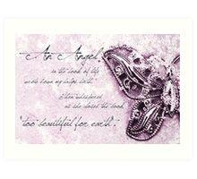 Too Precious For Earth (girl) Art Print