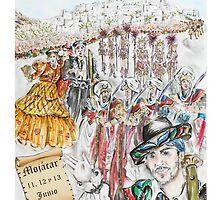 Moors and Christians Fiesta 2010  by Jill Bennett