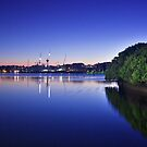 SS Ayrfield - Homebush Bay by Andrew McNeil