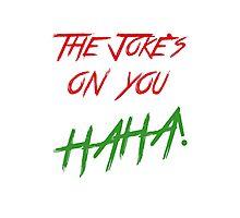 The jokes phone Photographic Print