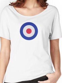 Mod Target Women's Relaxed Fit T-Shirt