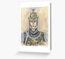 Templario Greeting Card