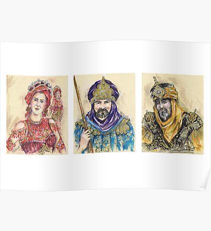 Moors of Mojácar or Moros de Mojácar Poster