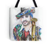 The Handsome Bandolero or El Bandolero Guapo Tote Bag