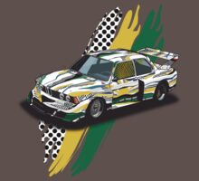 Roy Lichtenstein BMW E21 (fancy) by Steve Harvey