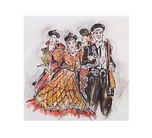 Group of Bandoleros or Grupo de Bandoleros by Jill Bennett