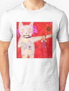 cat and kid T-Shirt