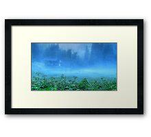 Foggy Evening, Austria Framed Print