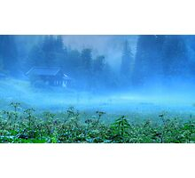 Foggy Evening, Austria Photographic Print