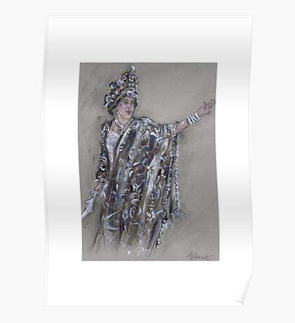 Warrior Queen or Reina Guerrera Poster