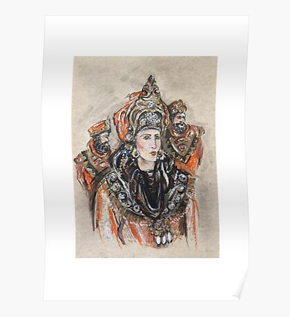 The Brave Queen or La Reina Valerosa Poster