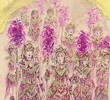 Band of Warriors or Banda de Guerreras by Jill Bennett