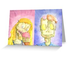 The King And The Queen Greeting Card
