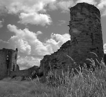 Flint Castle Ruins. N Wales. UK by PhillipJones