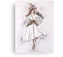 The Catwalk or La Pasarela Canvas Print