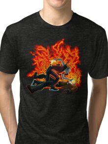 Face Sucking Plain Tri-blend T-Shirt