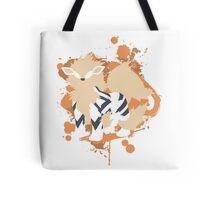 Arcanine Cutout (Pokemon) Tote Bag