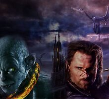 Gothic Lord of the Rings by Hiragraphic
