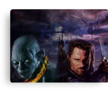 Gothic Lord of the Rings Canvas Print