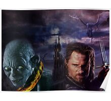 Gothic Lord of the Rings Poster